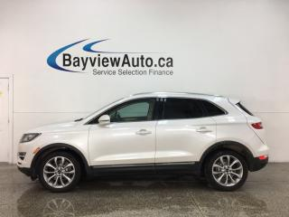 Used 2015 Lincoln MKC - WHITE PLATINUM! AWD! HTD LTHR! NAVIGATION! for sale in Belleville, ON