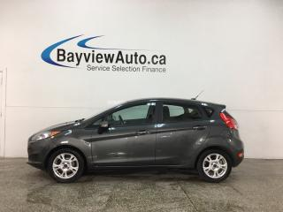 Used 2015 Ford Fiesta SE - 36,000KMS! AUTO! A/C! PWR GROUP! ALLOYS! for sale in Belleville, ON