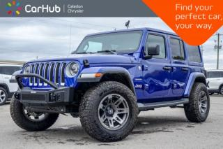 New 2019 Jeep Wrangler Unlimited Sahara|4x4|Backup Cam|Bluetooth|Heated front Seats|Blind Spot|R-Start|LED Grp|18