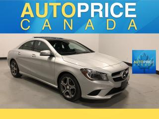 Used 2015 Mercedes-Benz CLA-Class XENON|NAVI|PANOROOF|LEATHER for sale in Mississauga, ON