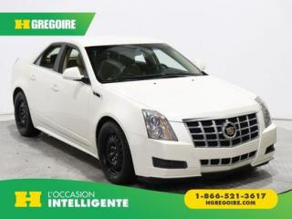 Used 2013 Cadillac CTS LUXURY GR ELECT for sale in St-Léonard, QC