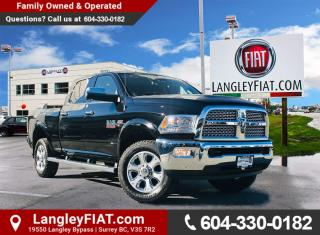 Used 2014 RAM 3500 Laramie Edition! Low KM's, Tow Package! B.C. Owned! for sale in Surrey, BC