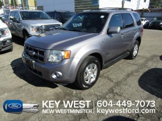 Used 2008 Ford Escape Limited 4x4 Tow Pkg Sunroof Leather Heated Seats for sale in New Westminster, BC