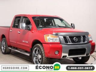 Used 2012 Nissan Titan SL AWD TOIT CUIR for sale in St-Léonard, QC