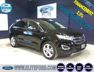Used 2017 Ford Edge TITANIUM, AWD, CUIR, TOIT, GPS, V6 for sale in St-Jérôme, QC