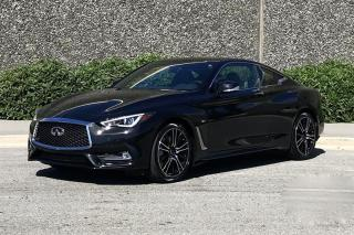 Used 2018 Infiniti Q60 3.0T Sport AWD rates from 3.9% for sale in Vancouver, BC