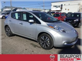 Used 2015 Nissan Leaf SL ***36 342 KM*** for sale in Beauport, QC