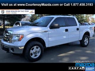 Used 2012 Ford F-150 XLT SuperCrew 4WD for sale in Courtenay, BC