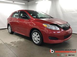 Used 2014 Toyota Matrix for sale in Drummondville, QC