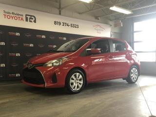 Used 2015 Toyota Yaris LE - Auto - A/C - Gr. élect. - Cruise for sale in Trois-Rivières, QC