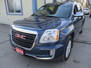 Used 2016 GMC Terrain GAS SAVING SLE-2 MODEL 5 PASSENGER 2.4L - ECO-TEC.. HEATED SEATS.. TOUCH SCREEN.. BACK-UP CAMERA.. BLUETOOTH SYSTEM.. for sale in Bradford, ON