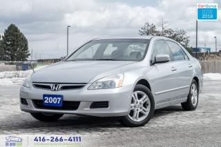 Used 2007 Honda Accord 2.4L SUNROOF NO ACCIDENTS CERTIFIED SERVICED CLEAN for sale in Bolton, ON