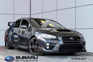 Used 2016 Subaru WRX STI Sport-tech for sale in St-Hyacinthe, QC