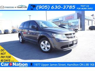 Used 2016 Dodge Journey CVP/SE Plus CVP/SE PLUS | REAR CAM | DUAL CLIMATE| BLUETOOTH for sale in Hamilton, ON