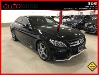 Used 2016 Mercedes-Benz C-Class C300 4MATIC PREMIUM PLUS SPORT ACTIVE LED RED INT! for sale in Vaughan, ON