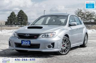 Used 2012 Subaru Impreza WRX STI 5DR TECH NAV T-BELT DONE SUBARU SERVICED CERTIFIE for sale in Bolton, ON