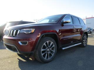 Used 2018 Jeep Grand Cherokee LIMITED LUXURY PACKAGE + NAV + CUIR VENT for sale in Napierville, QC