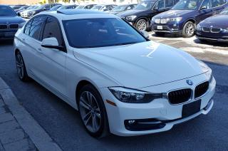 Used 2014 BMW 320 Xdrive White On Red for sale in Dorval, QC