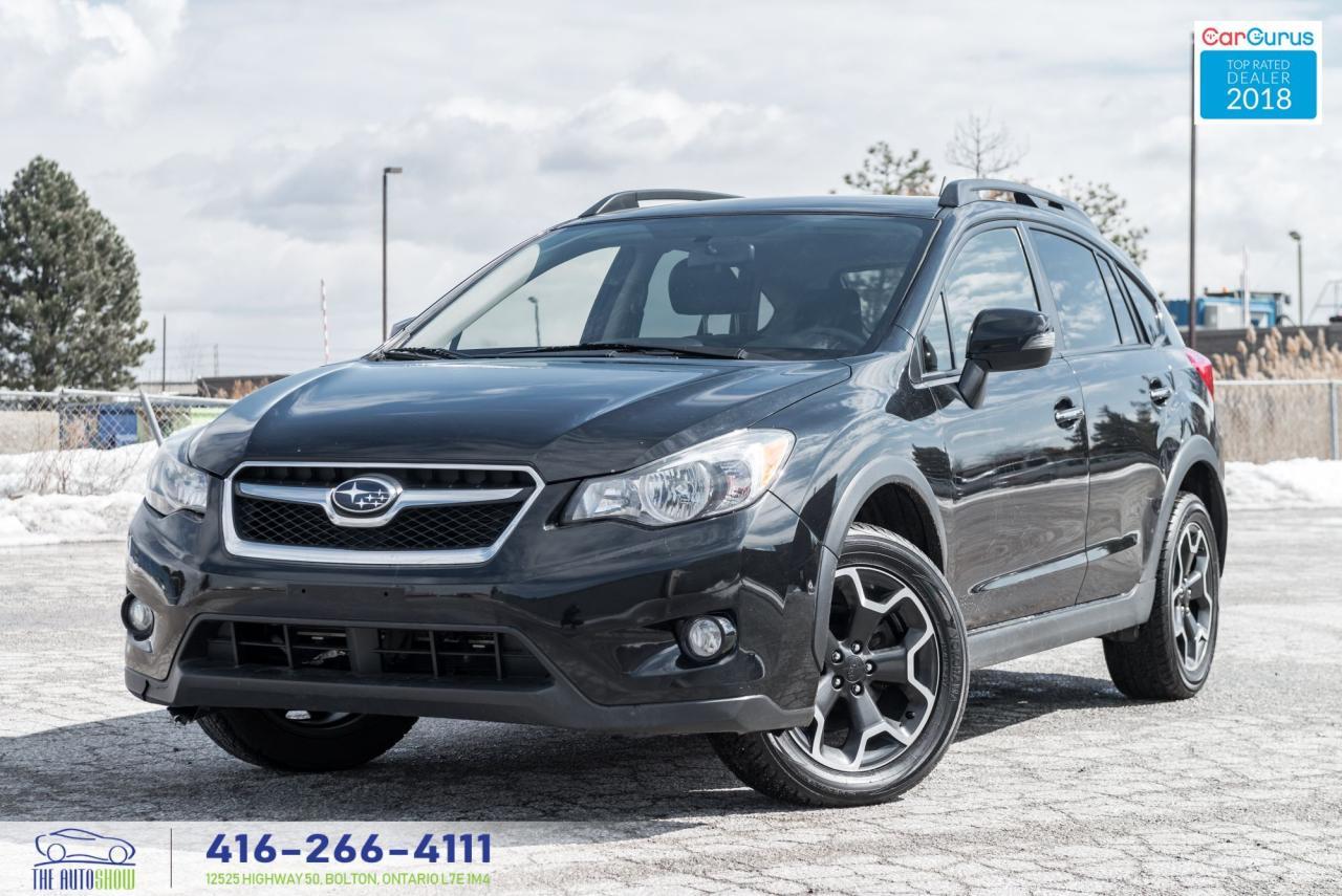 2014 Subaru XV Crosstrek Limited Tech Navi Leather/Roof