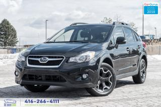 Used 2014 Subaru XV Crosstrek Limited Tech Navi Leather/Roof for sale in Bolton, ON