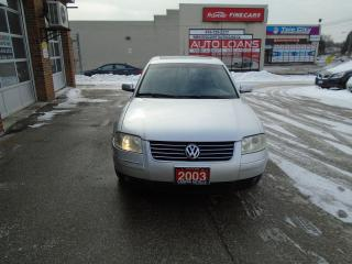 Used 2003 Volkswagen Passat GLS for sale in Scarborough, ON
