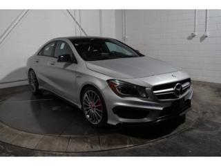 Used 2016 Mercedes-Benz CLA45 Awd Cuir Toit Nav for sale in Saint-hubert, QC