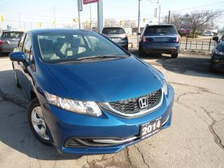 Used 2014 Honda Civic LXAUTO,NO INSURANCE CLAIM ,  BLUETOOTH, AUX,USB, for sale in Oakville, ON
