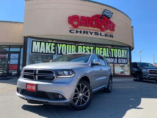 Used 2018 Dodge Durango GT+SUNROOF+B/UP CAM+LEATHER+7 PSSGR+MORE for sale in Toronto, ON