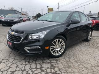 Used 2015 Chevrolet Cruze ECO Back Up Camera Bluetooth Remote Engine Start for sale in St Catharines, ON