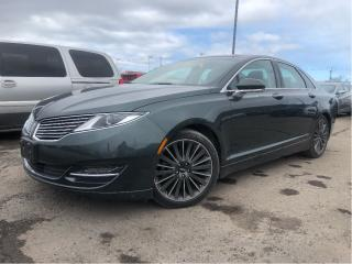 Used 2015 Lincoln MKZ Leather Navigation Sunroof for sale in St Catharines, ON