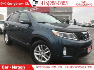 Used 2014 Kia Sorento LX AWD| HTD SEATS| ONLY 83,225KMS| CLEAN CARFAX for sale in Georgetown, ON