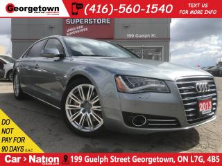 Used 2013 Audi A8 L 4.0T Premium | AWD | BOSE | ROOF | CLEAN CARFAX for sale in Georgetown, ON