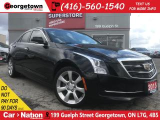 Used 2015 Cadillac ATS 2.0L Turbo Luxury | AWD | BOSE | SUNROOF | BU CAM for sale in Georgetown, ON