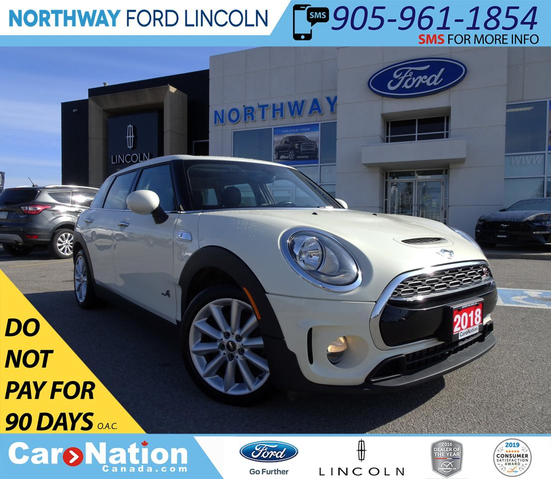 Used 2018 Mini Cooper Clubman Cooper S Awd Pwr Htd Leather