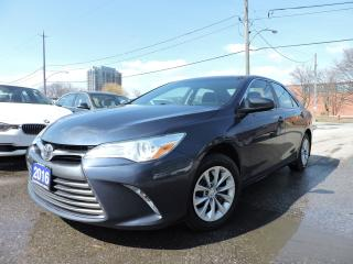 Used 2016 Toyota Camry LE | REV CAM | BLUETOOTH for sale in BRAMPTON, ON