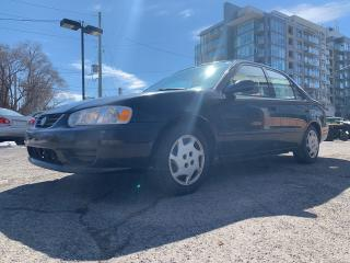 Used 2002 Toyota Corolla CE for sale in Ottawa, ON