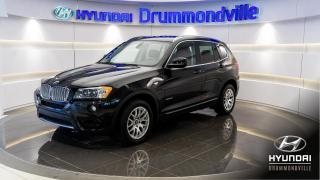 Used 2011 BMW X3 35i+ PREMIUM PACK + EXECUTIVE PACK + MAG for sale in Drummondville, QC