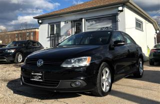 Used 2011 Volkswagen Jetta HIGHLINE SUNROOF LEATHER for sale in Mississauga, ON
