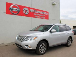 Used 2014 Nissan Pathfinder Certified Pre-Owned!!!! SV 4WD POWER LIFT GATE 3RD ROW SEATING SUNROOF & MORE for sale in Edmonton, AB