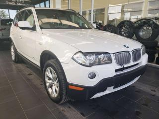 Used 2010 BMW X3 28i, HEATED STEERING, SUNROOF, ACCIDENT FREE for sale in Edmonton, AB
