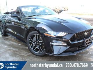 Used 2018 Ford Mustang GT/CONVERTIBLE/NAV/LOWKM/LEATHER for sale in Edmonton, AB