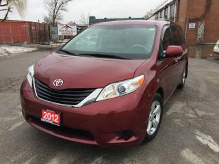 Used 2012 Toyota Sienna 5DR V6 LE 8-PASS FWD for sale in Brampton, ON