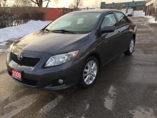 Used 2009 Toyota Corolla 4DR SDN for sale in Brampton, ON