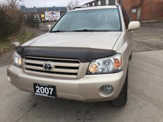 Used 2007 Toyota Highlander 4WD 4DR for sale in Brampton, ON