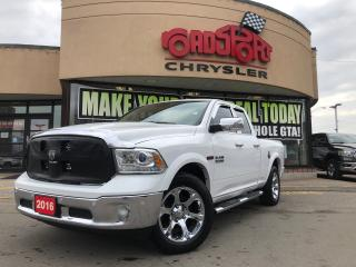 Used 2016 RAM 1500 Laramie/4X4/SUNROOF/PARK ASSIST/KEYLESS GO/ for sale in Toronto, ON