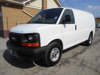 Used 2009 GMC Savana 2500 CARGO Heavy Duty 3/4Ton 4.8L Certfied ONLY 134Km for sale in Etobicoke, ON