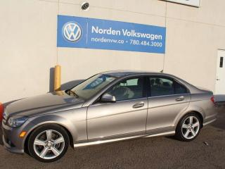 Used 2009 Mercedes-Benz C-Class C300 4MATIC AWD - LEATHER / SUNROOF for sale in Edmonton, AB