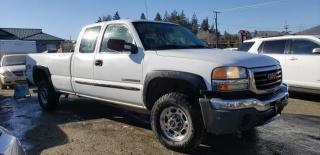 Used 2005 GMC Sierra 2500 HD EXT. CAB LONG BED 4W for sale in West Kelowna, BC