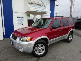 Used 2007 Ford Escape XLT V6, Extra Clean, No Accidents, 130,913 Kms for sale in Langley, BC
