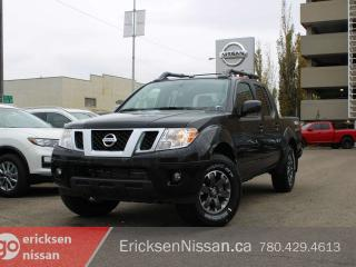 New 2019 Nissan Frontier PRO-4X 4x4 Crew Cab Leather I Navi I Sunroof l Demo for sale in Edmonton, AB